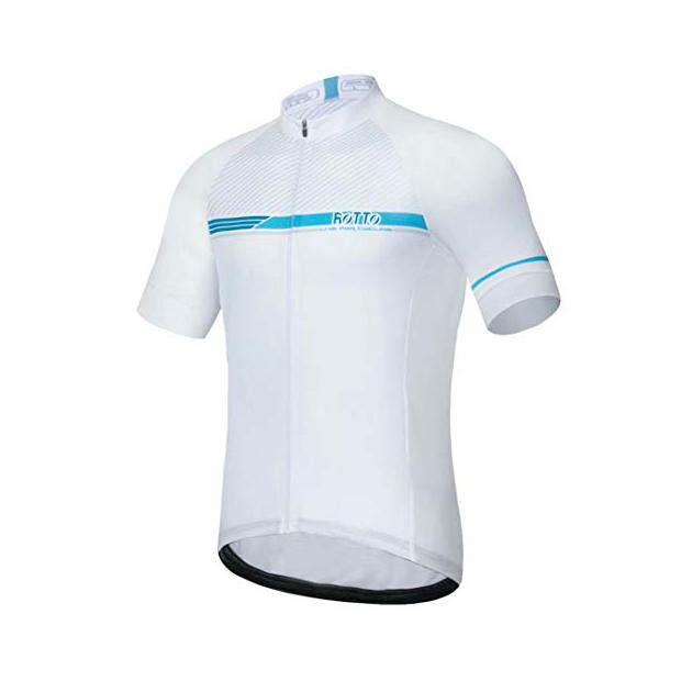 Camisetas de ciclismo blancas
