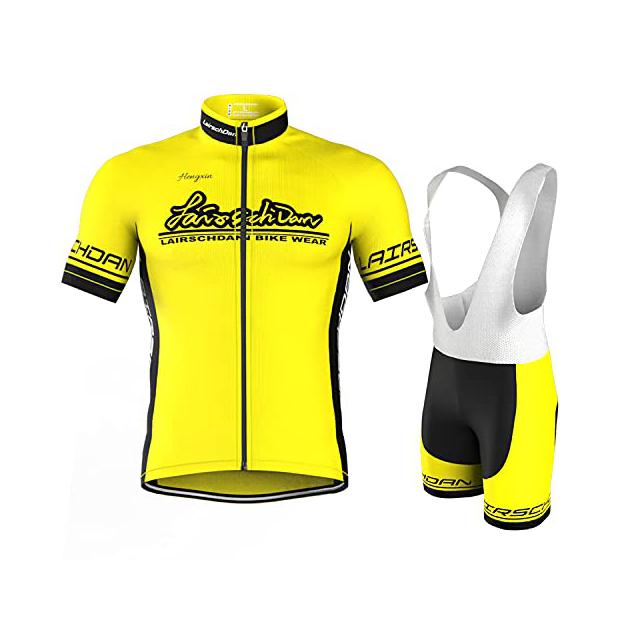 Maillots de ciclismo amarillos