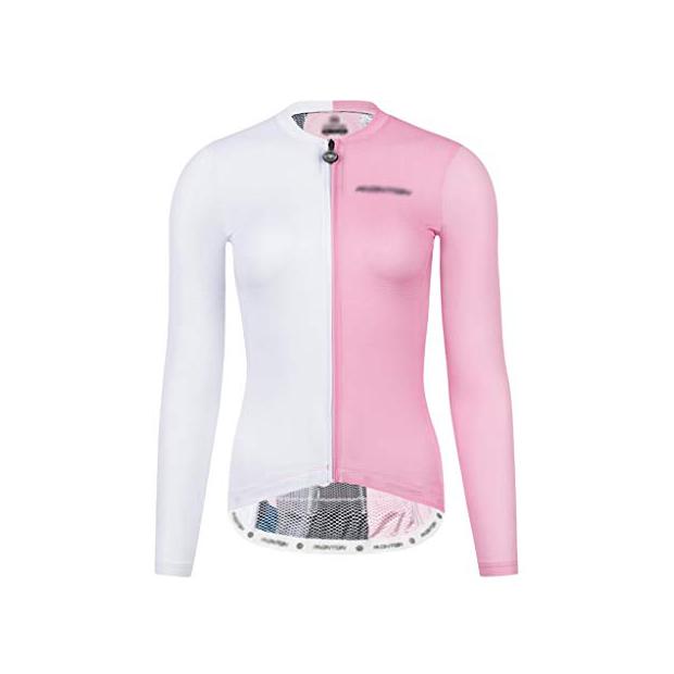Maillots de ciclismo rosas fluor