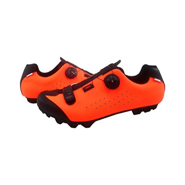Zapatillas de ciclismo naranjas