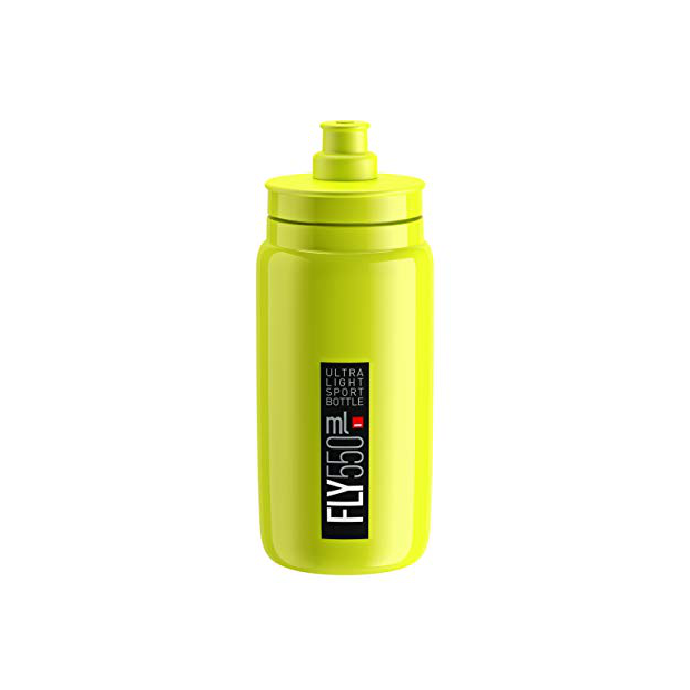 Botellas de ciclismo amarillas fluor