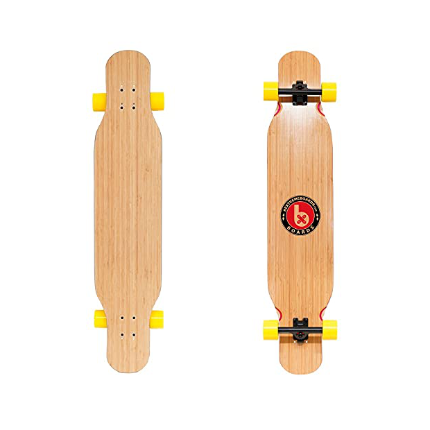 Longboard de bambu
