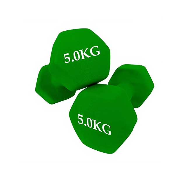 Mancuernas hexagonales 5 kg