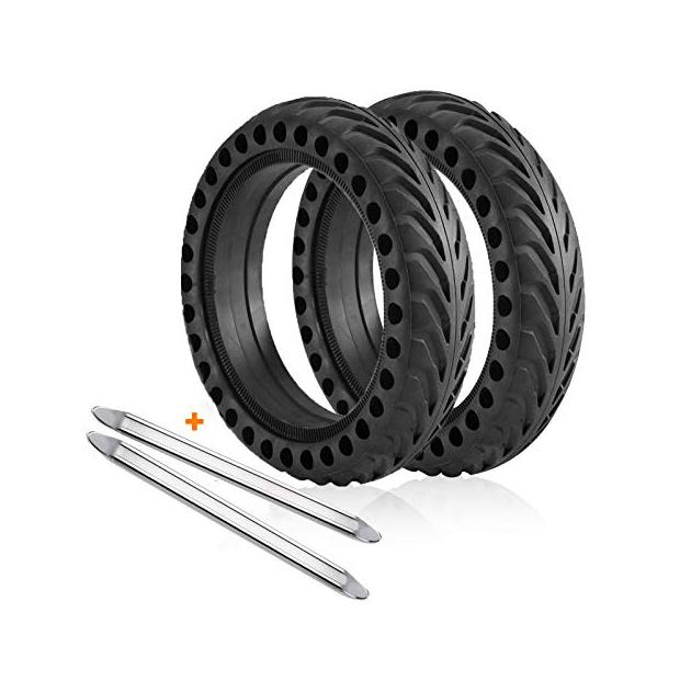 Patinetes eléctricos con ruedas antipinchazos