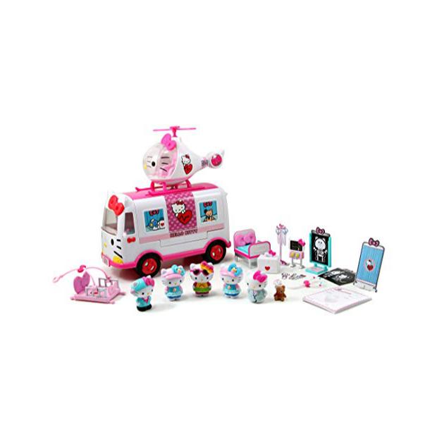 Puños de bicicleta de Hello Kitty