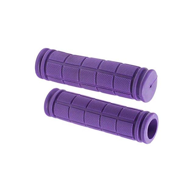 Puños de bicicleta violetas
